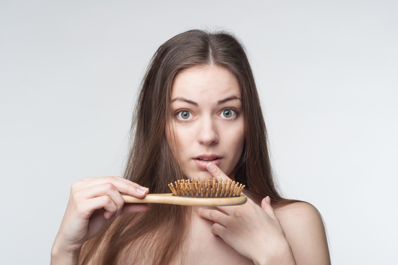 hair loss in women causes treatment