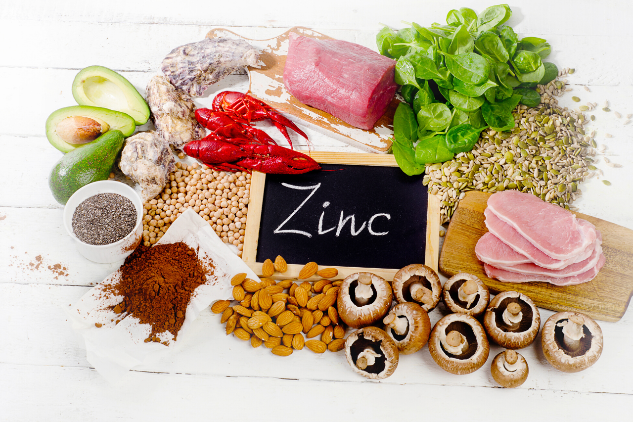 zinc is good for your hair